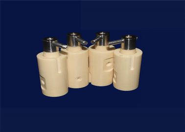 95%-99.99% Alumina 95% Zirconia Ceramic Thermal Rods Piston Pump/ Plunger Shaft